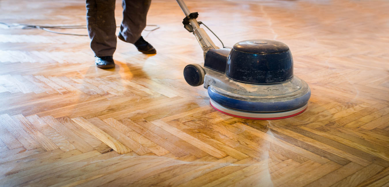 Wood floor polishing, buffing, scrubbing & cleaning services Melbourne.
